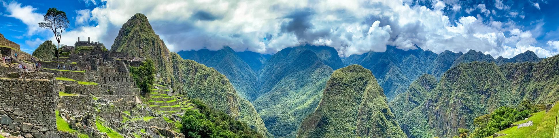 Panoramic view of Choquequirao Trek & Machu Picchu Tour