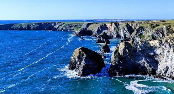 Rocky shores of South West England