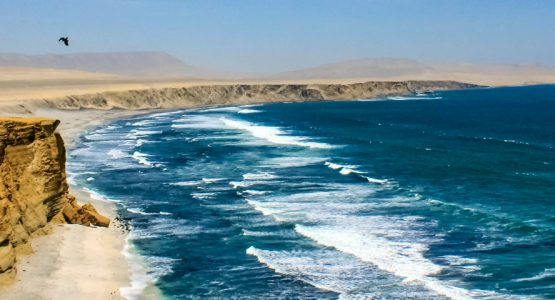 Panoramic view from Peru for Active Travelers Tour