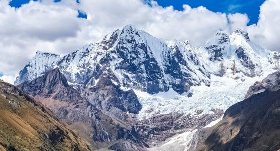 Panoramic view from Short Huayhuash Tour