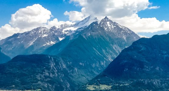 Panoramic views from Aosta Valley Hiking Tour