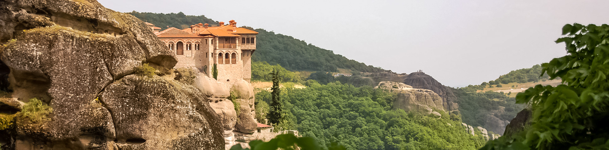 Panoramic view from North Macedonia, Greece and Bulgaria tour