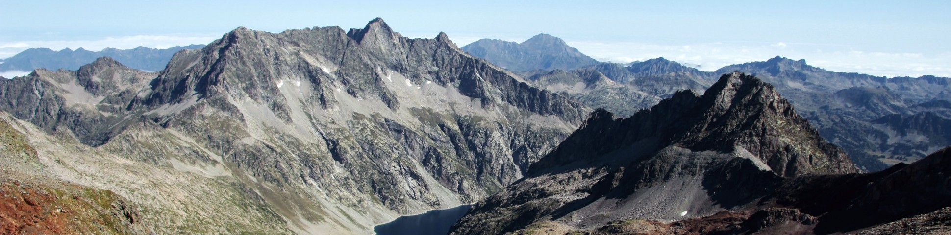 Mountains in French Pyrenees