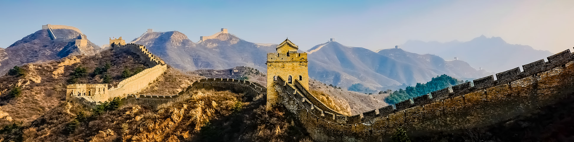Panoramic views from China and Tibet Highlights Tour