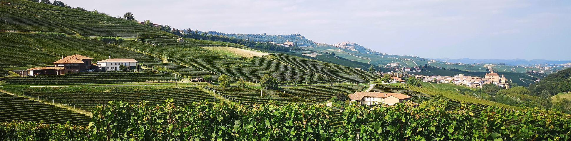 Piedmont in Italy