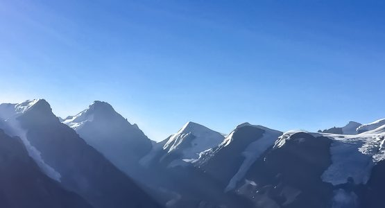 Panoramic view from Annapurna Circuit Trek
