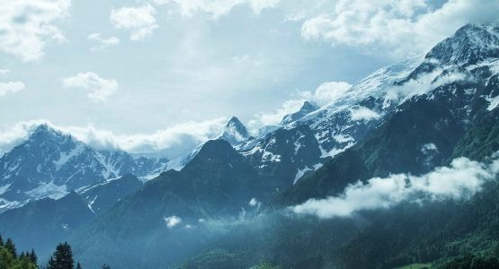 Mont Blanc in Italy