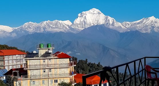 Panoramic view from Ghorepani and Poon Hill Trek