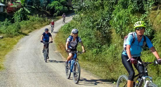 Panoramic view from Kathmandu Valley Bike Tour