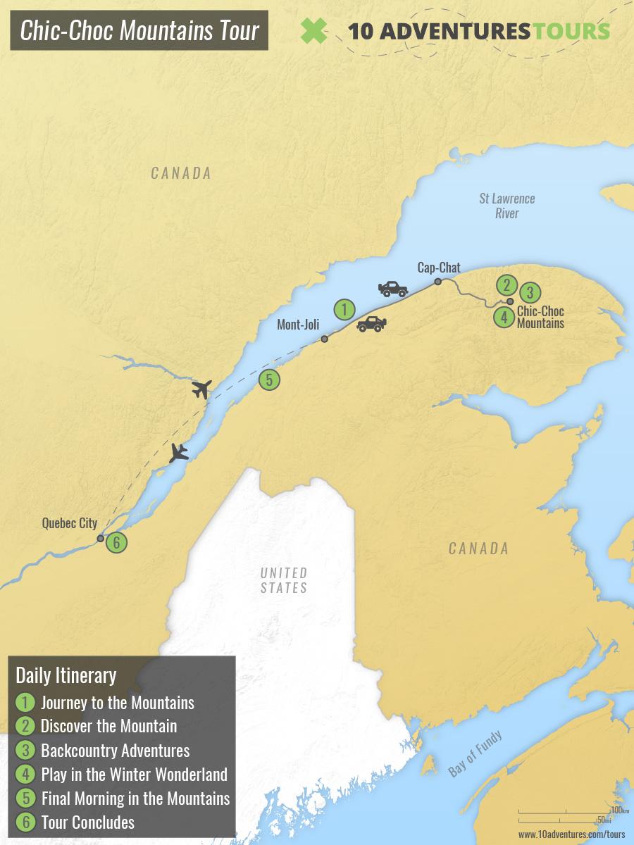 Canada-Chic-Choc Mountains Tour