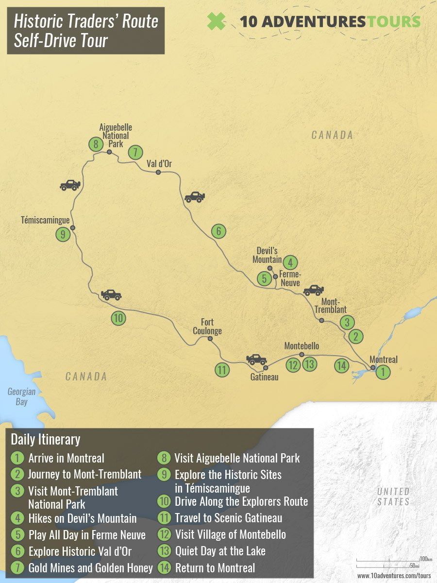 Historic Traders' Route Self-Drive Tour