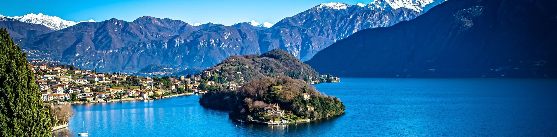 Lake Como in Italy