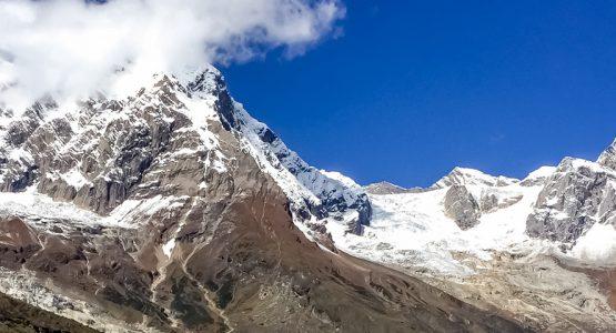 Panoramic views from Manaslu Circuit Trek