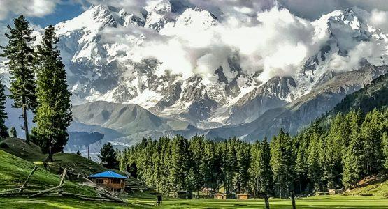Panoramic views from Fairy Meadows and Nanga Parbat Base Camp Tour