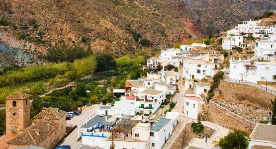 Alpujarras village in Spain