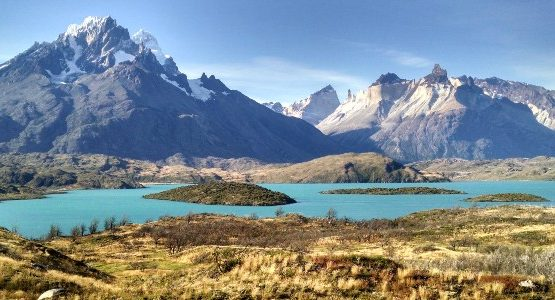 Beautiful scenery of Torres del Paine National Park in Chile