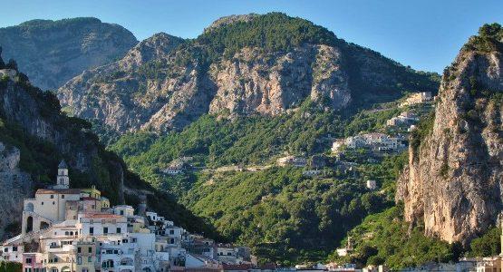 Beautiful village in Campania (Italy)