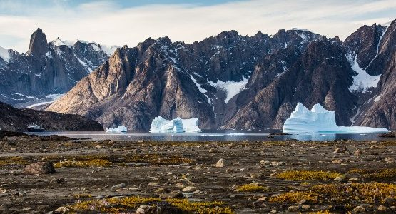 Mountains in East Greenland