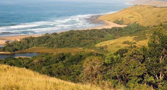 Beautiful seashore at Eastern Cape