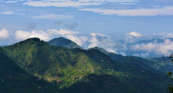 Mountains in Himachal Pradesh (India)