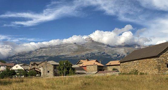 Pastures in Aragon (Spain)