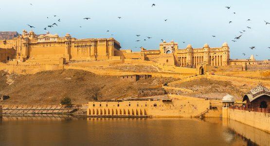 Bewautiful fortress at Rajasthan