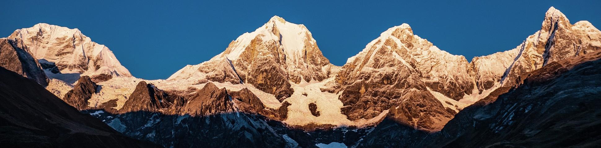 Cordillera Huayhuash in Peru