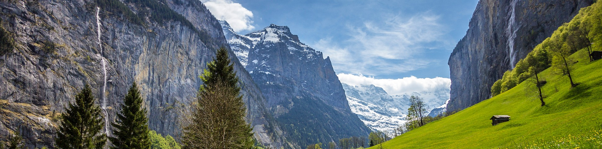 Swiss Alps in Switzerland