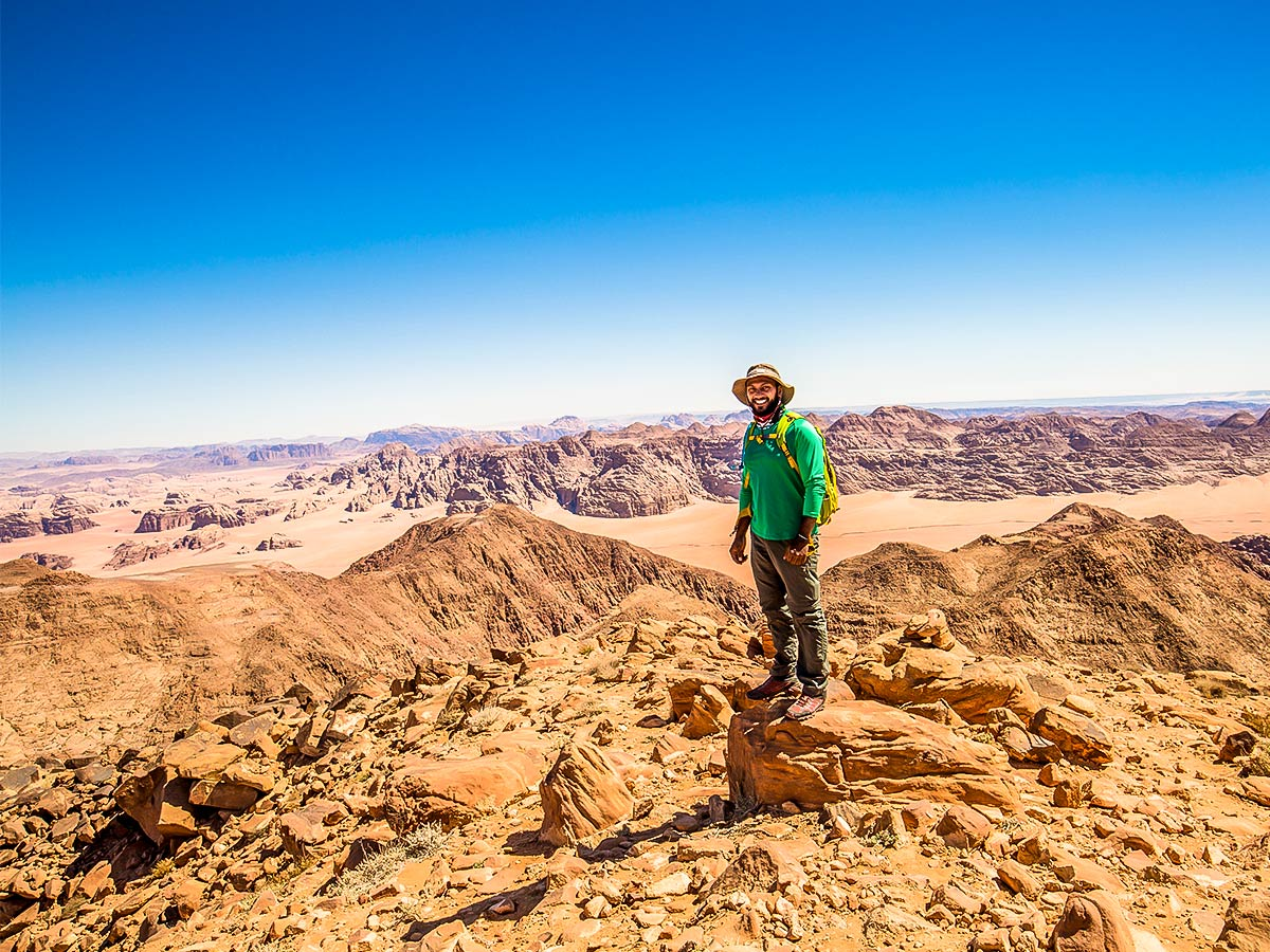 Trekking on Jordan Adventure Holiday tour