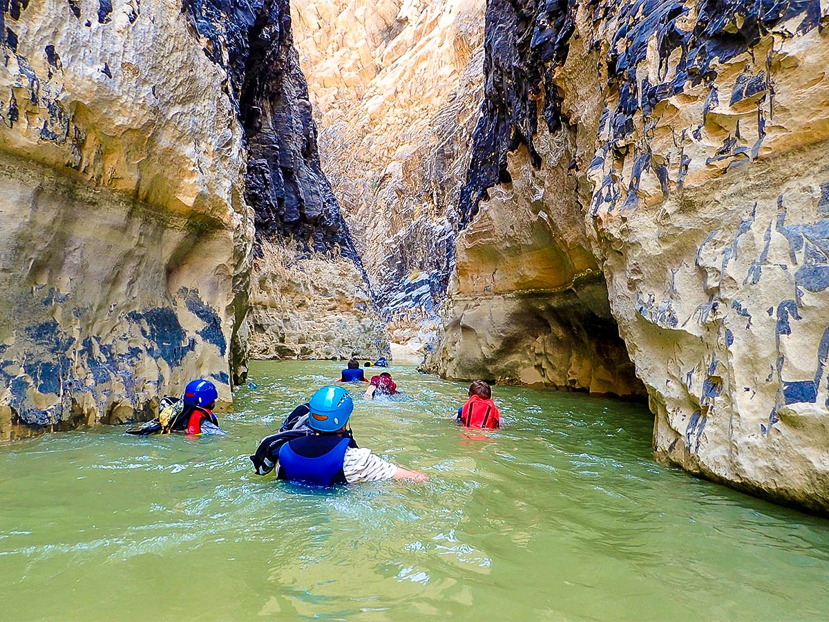 Canyoning on Jordan Adventure Holiday tour