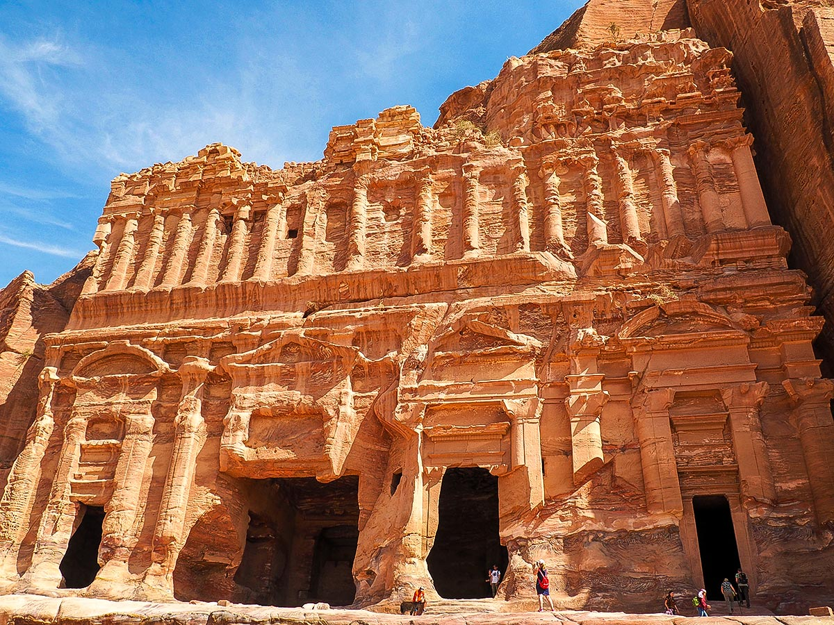 Petra on guided Jordan Adventure Holiday tour