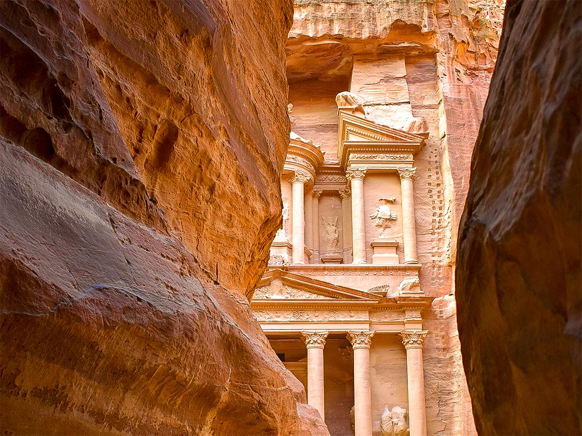 Petra on Jordan Adventure Holiday tour