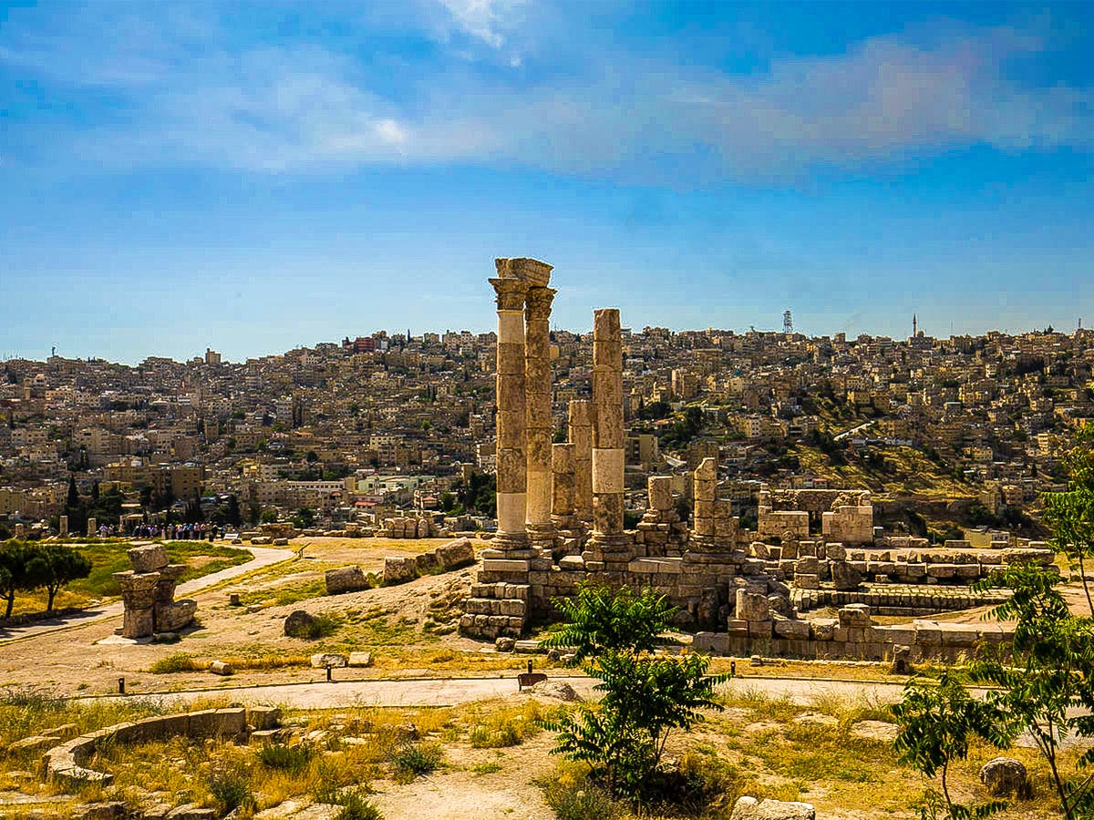 Amman on Jordan Adventure Holiday tour