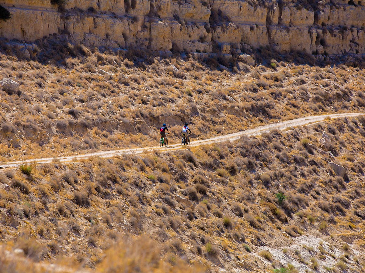 Mountain biking in Jordan on Jordan Adventure Holiday guided tour