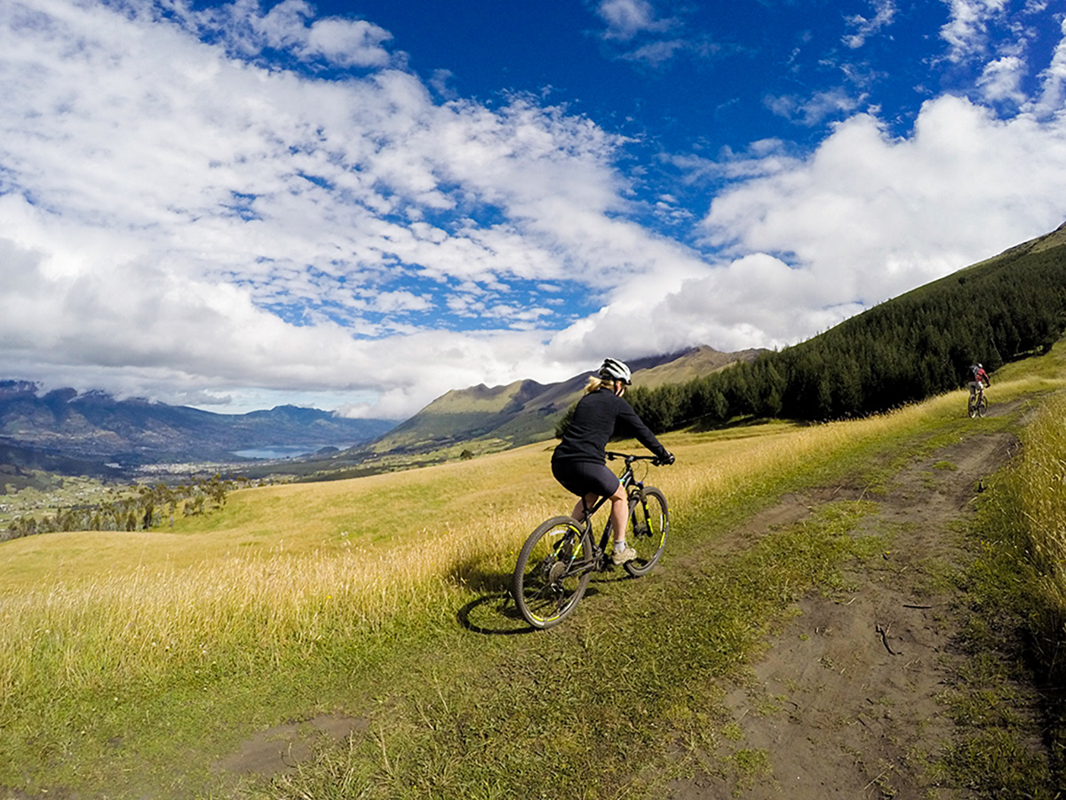 Biking in Imbabura on Cross Country Cycling in Ecuadorian Andes