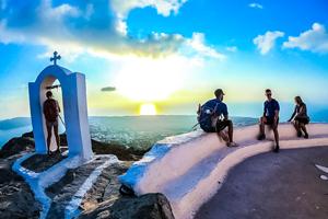 Paros, Naxos, Santorini Multisport tour teaser