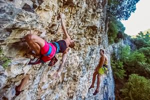 Finale Ligure rock climbing teaser