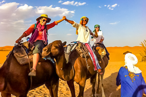 Erg chigaga Camel trek teaser