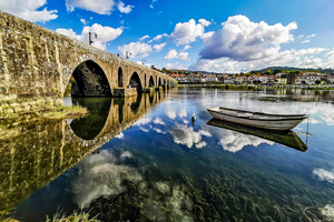 Cycling the Portuguese Camino from Porto to Santiago tour teaser