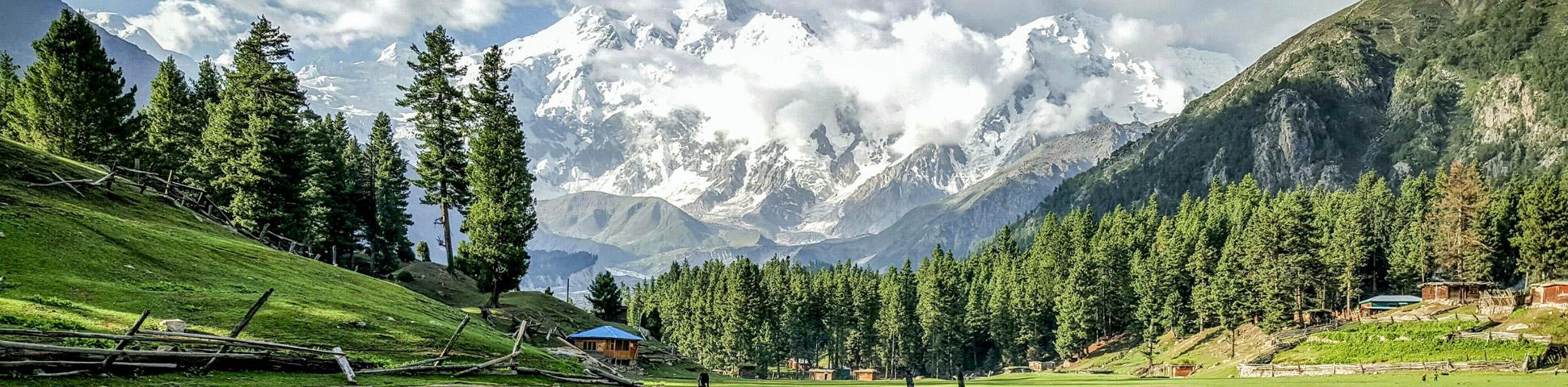 Panoramic views of Pakistan mountains