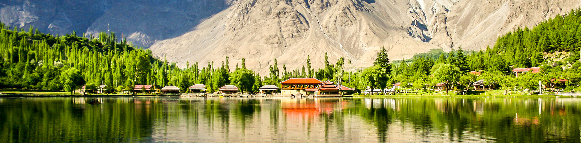 Shangri La resort on guided tour in Hunza and Skardu valleys in Pakistan