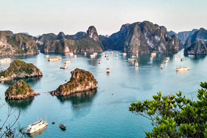 Vietnam Mountains and Cruise tour teaser