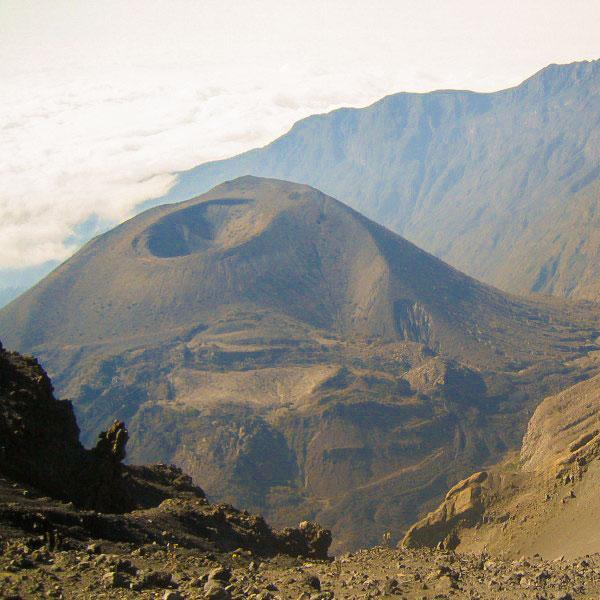 Beautiful views on Kilimanjaro trek on Lemosho Route in Tanzania