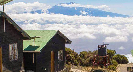 Expansive views from Mount Meru Trek in Tanzania