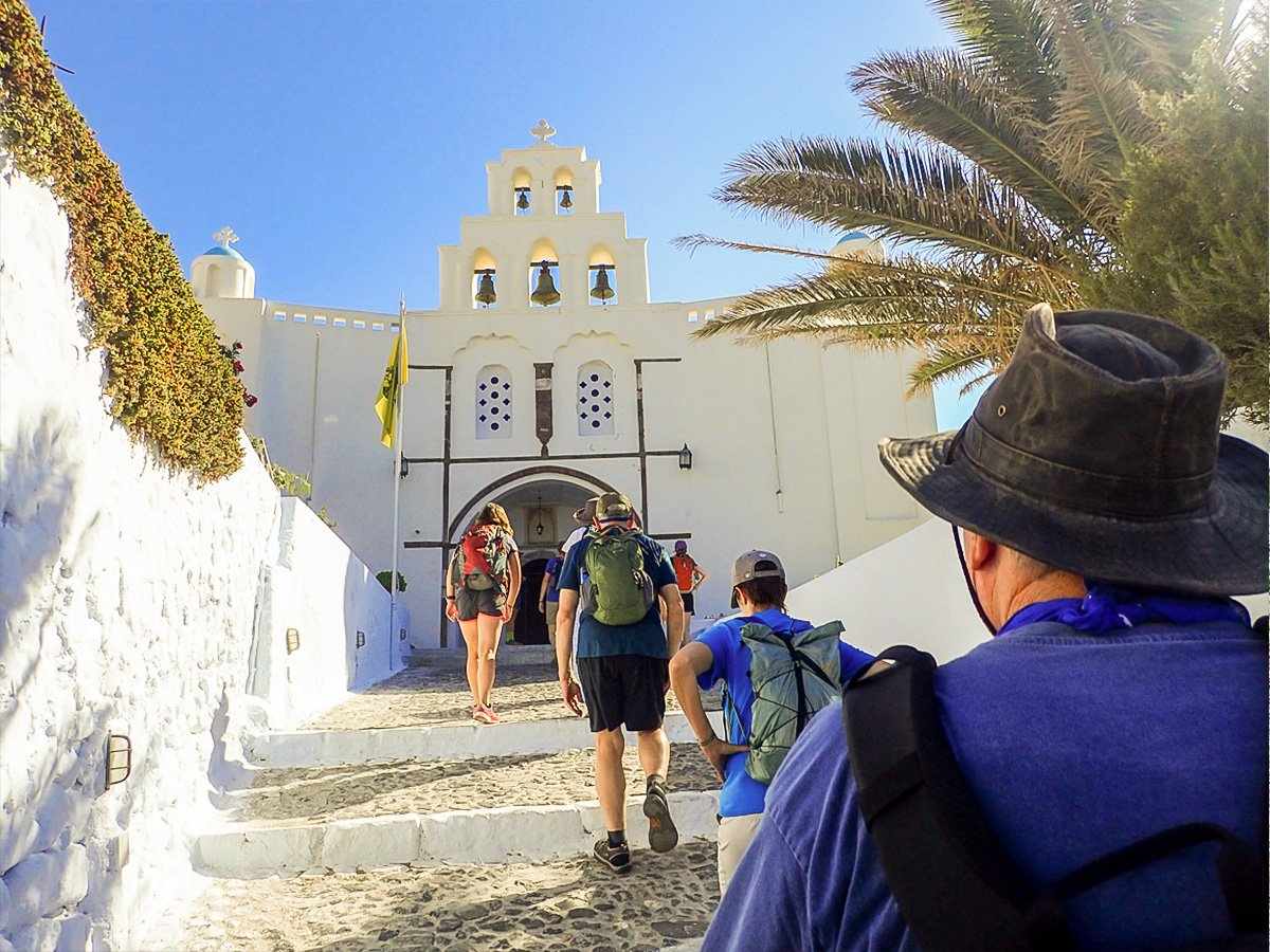 Authentic Greek Islands hiking tour on Andros & Tinos leads through small authentic villages
