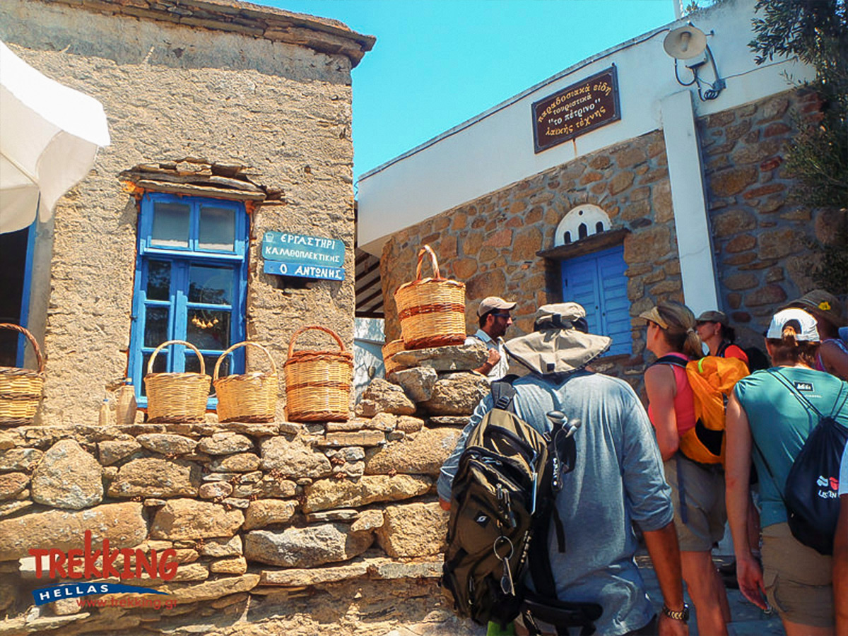 Beautiful villages on Authentic Greek Islands Hiking on Andros & Tinos