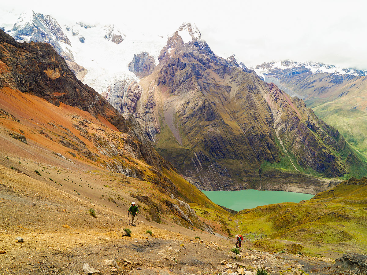 Beautiful views on Huayhuash trek, Peru