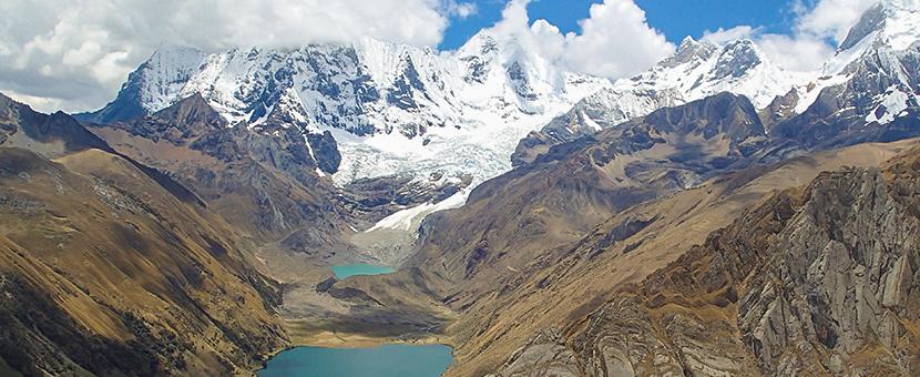 Expansive views on Huayhuash circuit trek, Peru
