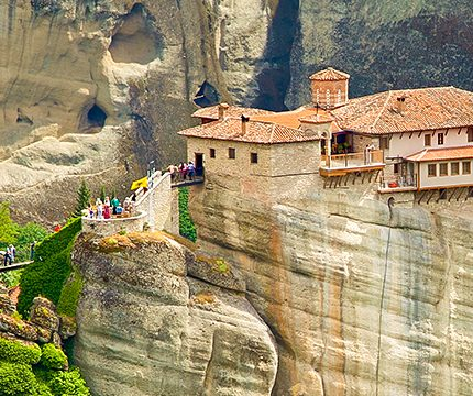 Beautiful historic sites on trekking tour in Northern Greece