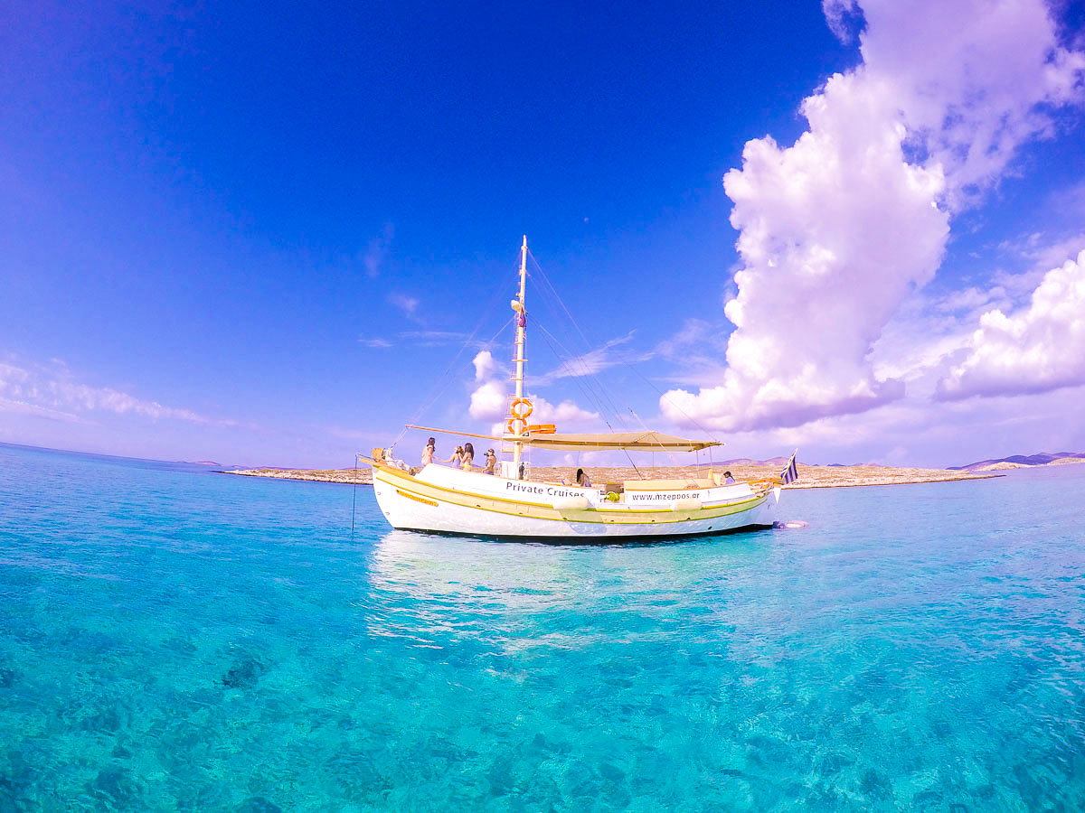 Sailing on Greek Islands Multisport tour in Paros, Naxos and Santorini